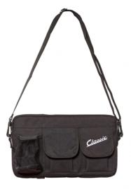 Tas voor bagagevak vóór - zwart nylon