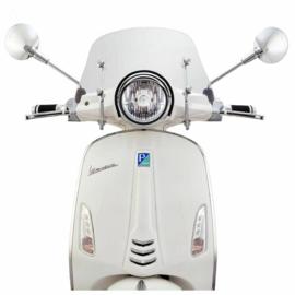 Flyscreen Ermax Piccolo voor Vespa Primavera 50-150 ccm - helder