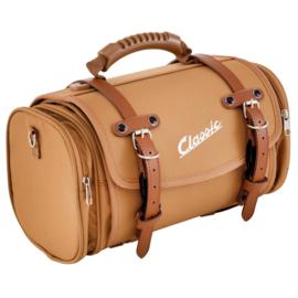 Tas / koffer 'classic' - 10 liter - bruin nylon