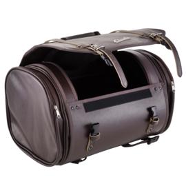 Tas / koffer 'classic' - 35 liter - bruin kunstleer