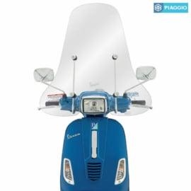 Windscherm Piaggio voor Vespa S 50-150 ccm - helder