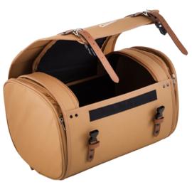 Tas / koffer 'classic' - 35 liter - bruin nylon