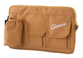 Tas voor bagagevak vóór - bruin nylon
