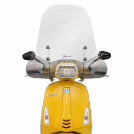 Windscherm Faco voor Vespa Sprint 50-150 ccm - helder