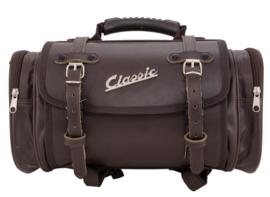 Tas / koffer 'classic' - 10 liter - bruin kunstleder