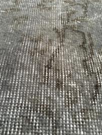 Vintage recoloured tapijt grijs Maat: 159 x 261