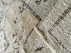 Vintage whitewash tapijt Maat: 177 x 281