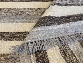 Kelim: Memna Kelim tapijt Maat: 299X189