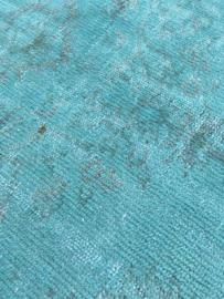 Vintage recoloured tapijt mint Maat: 162 x 267