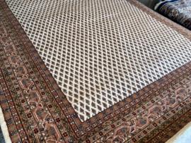 Perzisch: Handgeknoopte Mir plain Maat:200X300