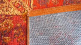 Modern: Patchwork Izmir Tapijt Orange Maat:160X230