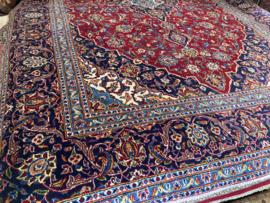 Perzisch: Antieke  Keshan Tapijt Maat: 250X365