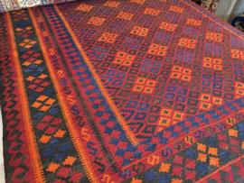 Kelim: Turkmeense Pendeh Kelim Maat: +/- 200x300