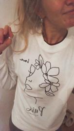 Sweater Head of Flowers