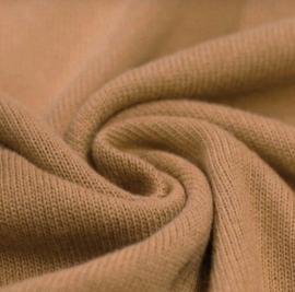 Fijn gebreide deken Camel