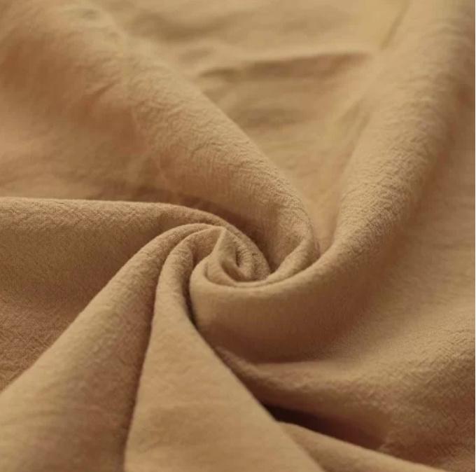 Hoes aankleedkussen gewassen katoen Camel