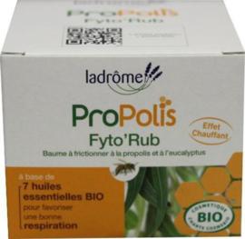Propolis Fyto'Rub (borstbalsem) - BIO – LaDrome