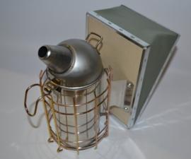 Blaasbalgberoker 8 cm doorsnede, RVS
