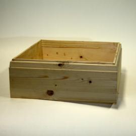 Simplex honingkamer van vurenhout