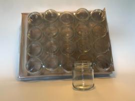 Ronde potten, 212 ml/ 250 gr, 20 stuks