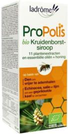 Propolis Kruidenborstsiroop (hoestdrank) BIO LaDrome