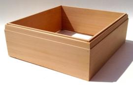 Simplex honingkamer van red cedar