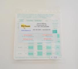Filterpapiertjes voor Liebig dispenser, 40 stuks