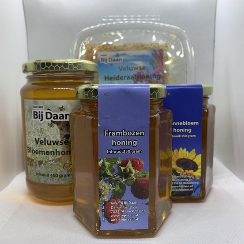 Kennismakingpakket - 4 soorten honing