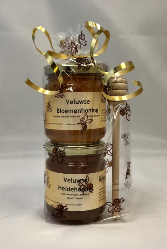Honing geschenk heide en bloem