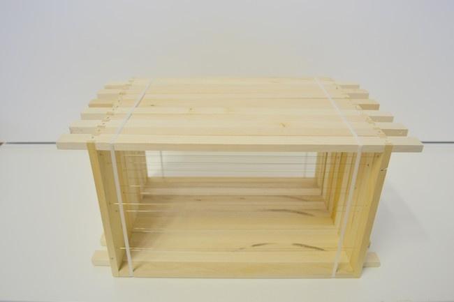 Gemonteerde broed- of honingkamer ramen per 10 stuks ZZ