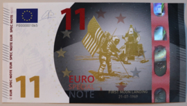 Euro Special Note Moon landing