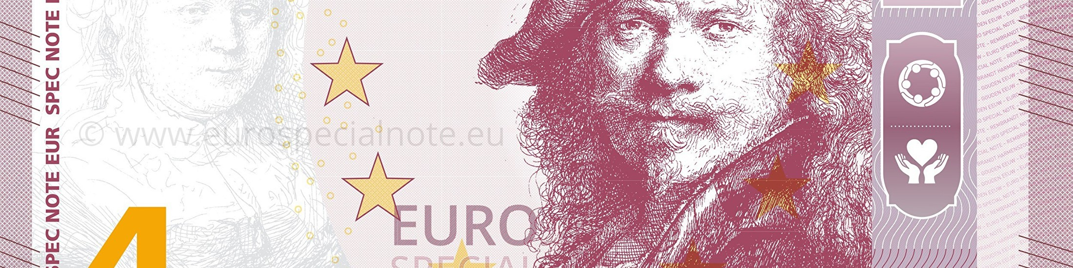 Euro Special Note Rembrandt collectable
