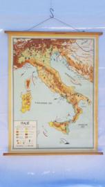 Schoolplaat Italie