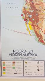 Schoolplaat noord en midden Amerika