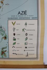 Schoolplaat Azie