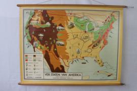 Schoolplaat van de Verenigde staten