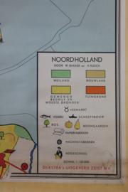 Schoolplaat Noord Holland