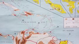 Schoolplaat Nederlandse Antillen