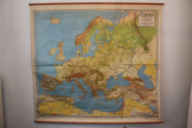 Schoolplaat Europa (XXL)