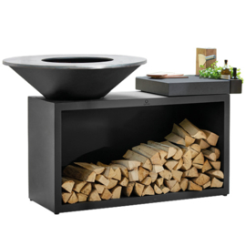 Ofyr Island Black Ceramic Dark Grey 100-100
