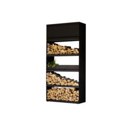 Wood Storage Black 100