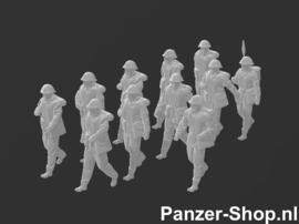 NVA Satze 4 | Gehende Soldaten