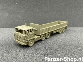 (TT) DAF 2800, Tractor & Geopende Trailer