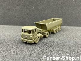 MAN F2000, Tractor & Tipper Trailer