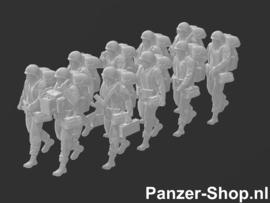 Bundeswehr Satze 1 | Gehende Soldaten
