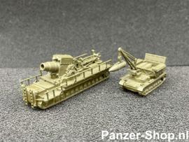 Z | 60cm Karl-Gerät & Munitionsschlepper