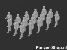 Landmacht Satze 2 | Marschierende Soldaten