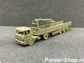 (TT) MAN F2000, Tracteur & Remorque De Tuiles