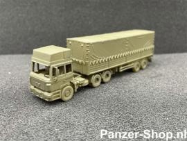 (TT) MAN F2000, Tracteur & Remorque Fermée
