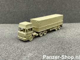 MAN F2000, Tractor & Gesloten Trailer